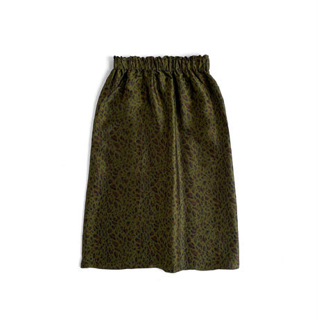 South2 West8 / ARMY STRING SKIRT - LEOPARD JQ