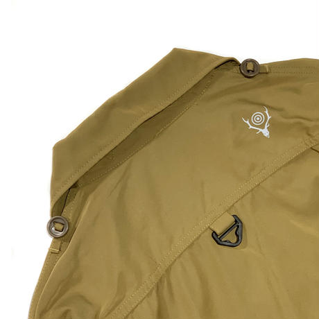 South2 West8 / TENKARA SHIRT - POLY GABARDINE