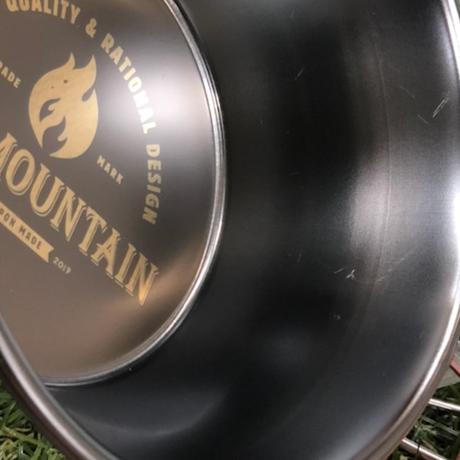 SomAbito×OLDMOUNTAINコラボ ブラックシェラカップ スタンダードロゴ