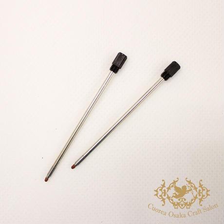 中性0.5ミリ ハーバリウムボールペン 替芯 2本セット(ブラック)