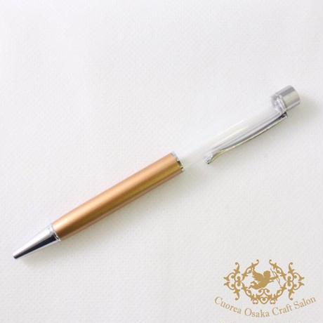 SALE ハーバリウムボールペン単体 ゴールド