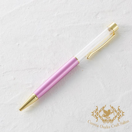 23:ハーバリウムボールペン単体 ラベンダー×GO