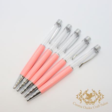 3:ハーバリウムボールペン単体 ピンク×S 5本組