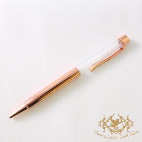 SALE ハーバリウムボールペン単体 ピンクゴールド