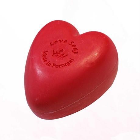 エッセンシアスデポルトガル LOVE ラヴ ソープ チャーム 150g / 洗顔 石鹸 オーガニック