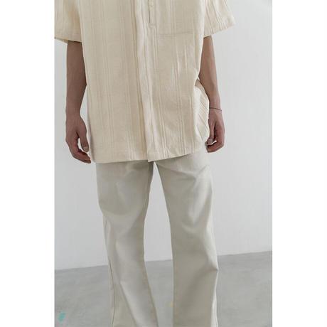 Dobby Check Canvas S/S Shirt