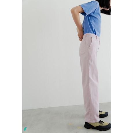 Paper Dungaree Pants (PINK)