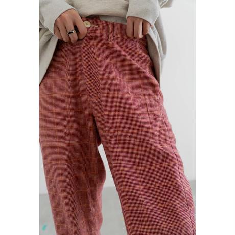 Silknep Check Baker Pants