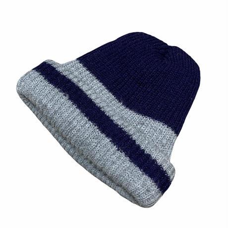 90's LINE STRIPE KNIT CAP