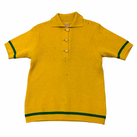 50's VINTAGE S/S KNIT POLO