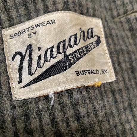 50's NIAGARA VINTAGE WOOL HALF COAT