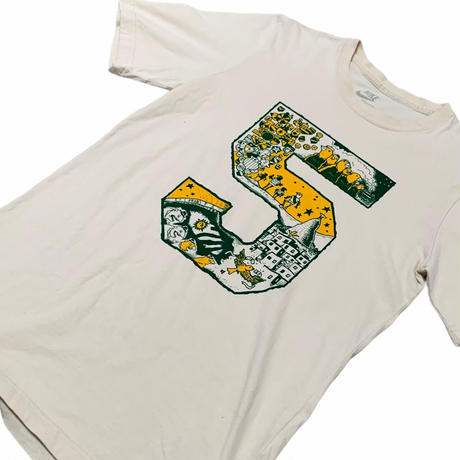 BRAZIL製 NIKE  プリントTシャツ