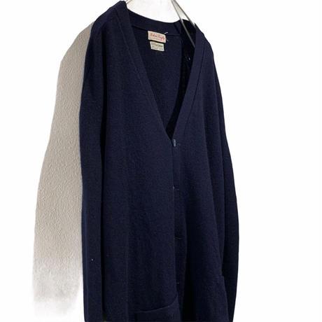 スコットランド製  cashmere  cardigan  カシミアカーデ