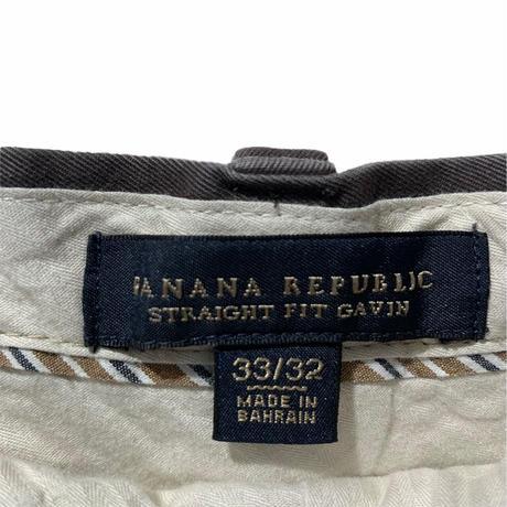 BANANA REPUBLIC STRAIGHT FIT GAVIN
