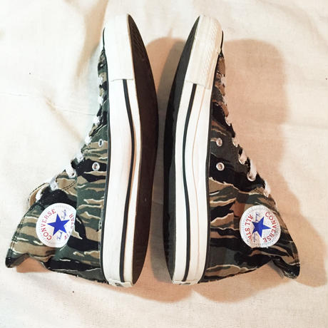 90's converse all star  Tiger Camo JAPAN