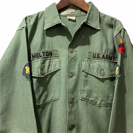 80's U.S. ARMY UTILITY SHIRT