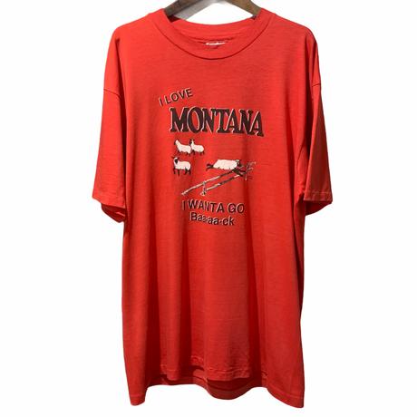 80's HANES I LOVE MONTANA