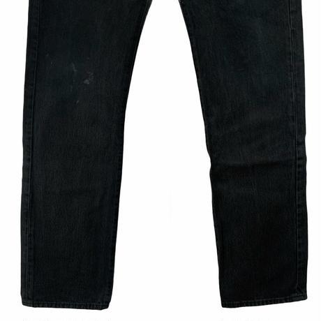LEVI'S 501 EURO black denim