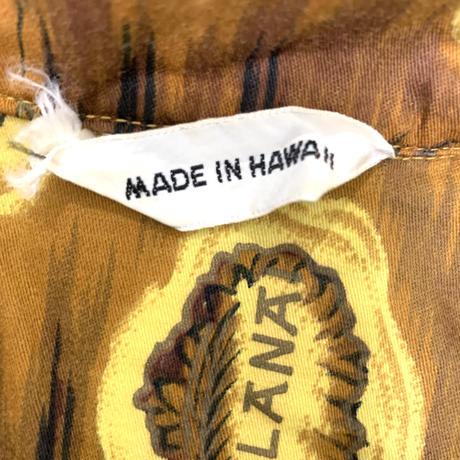 60's VINTAGE ALOHA  MADE IN HAWAII