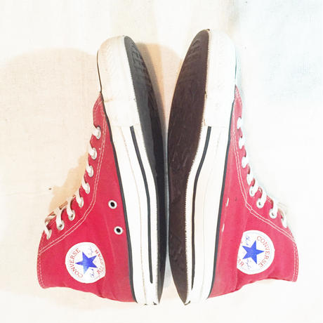 90's converse all star  red