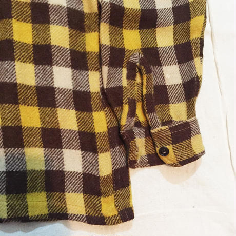VINTAGE 40's wool shirt jacket