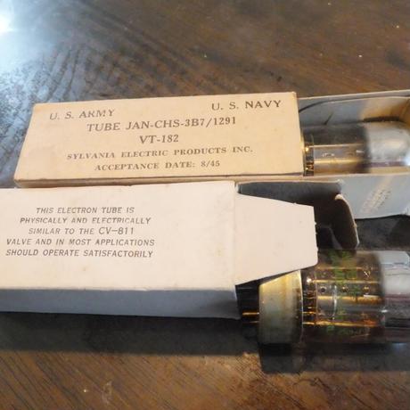 真空管 当時物 VT-182(3B7)  2本1組
