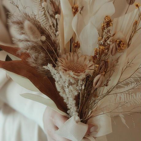 dry flower bouquet[honey]