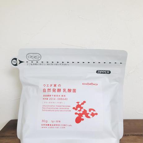 ウエダ家の自然発酵乳酸菌 1gx30包