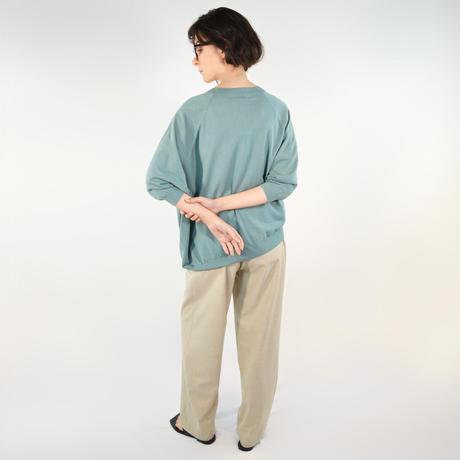 Asymmetrical sweater <Mint>