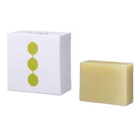 Olvie /オルヴィエ 【ギフトセット】フェイシャルソープ(ラべンダー&ゼラニウムの香り)90g  & オリジナルソープデッシュセット