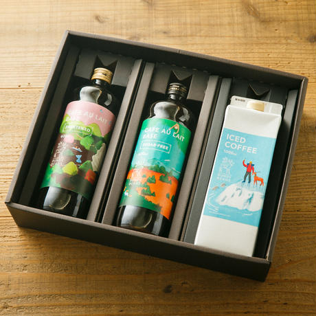 GIFT 11【PREMIUM ICED COFFEE & CAFE AU LAIT BASE】「L」
