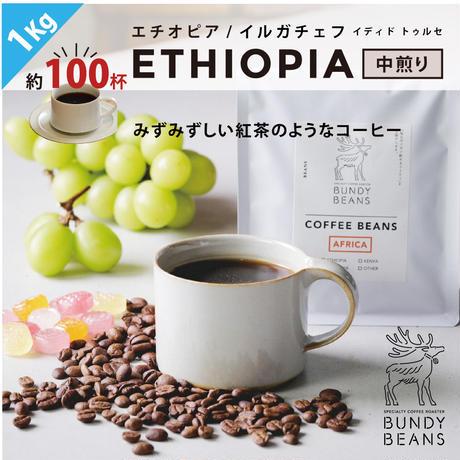 1kg【エチオピア/ETHIOPIA】中煎り  ウォッシュド