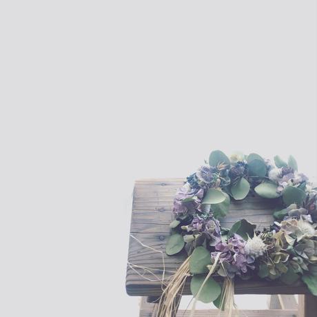 「花かんむりの会」 ...秋色の花かんむり...  午後の部