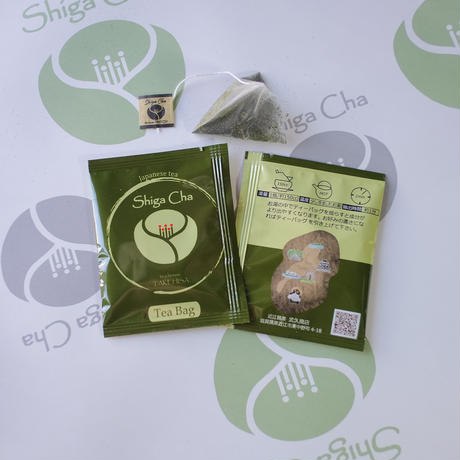 Shiga煎茶ティーバッグ       One-pack packaging          2g個包装×8p