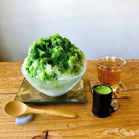特製Shiga抹茶かき氷 【イートイン商品】                               ¥900(税込)