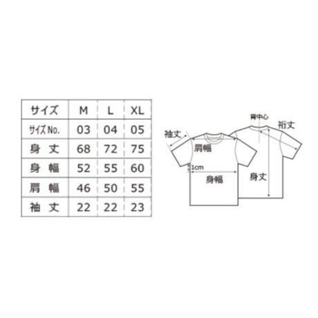【受注生産】#ぶぎぼのぬの02 DEADrean Tee(White / Black)【予約期間 8月2日まで→発送8月下旬以降】