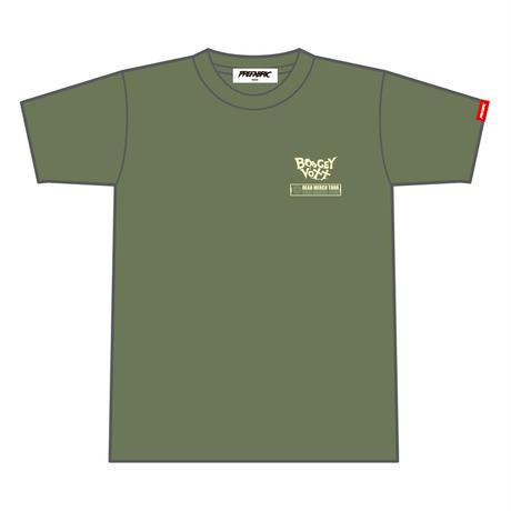 【受注生産】#ぶぎぼのぬの02  Flight Tee (Dark / Army / Cement)【予約期間 8月2日まで→発送8月下旬以降】