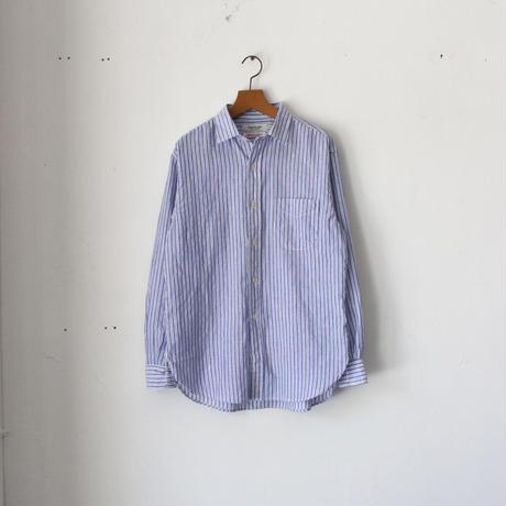 OMNIGOD_ストライプオフィサーシャツwomen/【56-0336X】