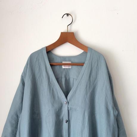 Honnete_V neck long shirts【I012D003】