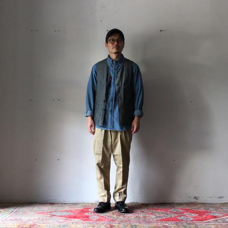 OMNIGOD_5.5ozデニムBDシャツ/mens【56-0321E】