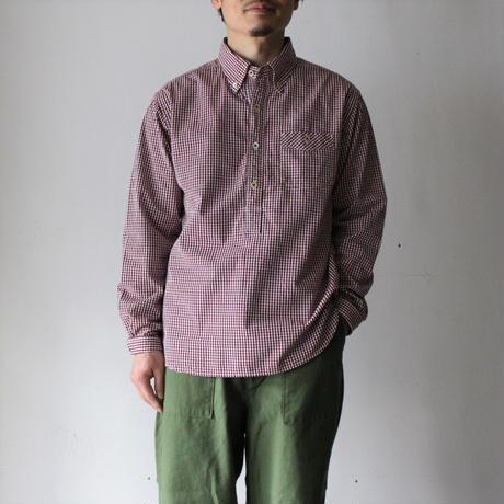 OMNIGOD_ギンガムBDプルオーバーシャツ mens/【56-0322X】