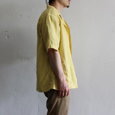 OMNIGOD_レーヨンキュプラシルクエットシャツmen/【56-0334X】