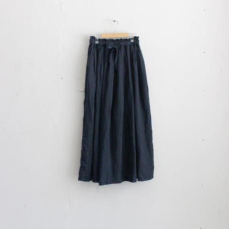 artepovera_リネンギャザースカート【I017K0020】