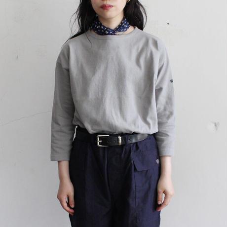 OMNIGOD_ボートネックマニッシュシャツ/ladies【59-0880N】