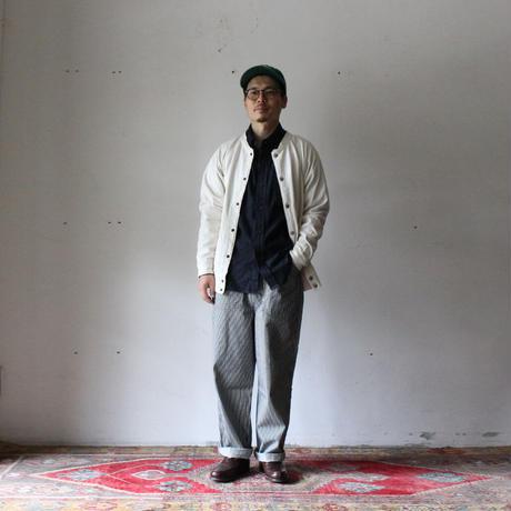 OMNIGOD_ヒッコリーPWイージーパンツ/mens【53-0180D】