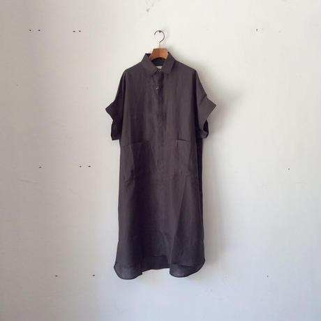 Honnete_oversize pocket shirts【I012A004】