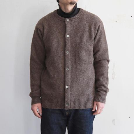 OMNIGOD_シェットランド クルーネックカーディガン/mens【59-0440N】