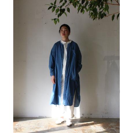 OMNIGOD_5.5oz甘織りスタンドカラーOP womens/【57-0629E】