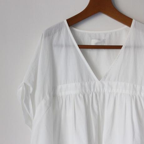 Honnete_v gather dress【I012D0037】