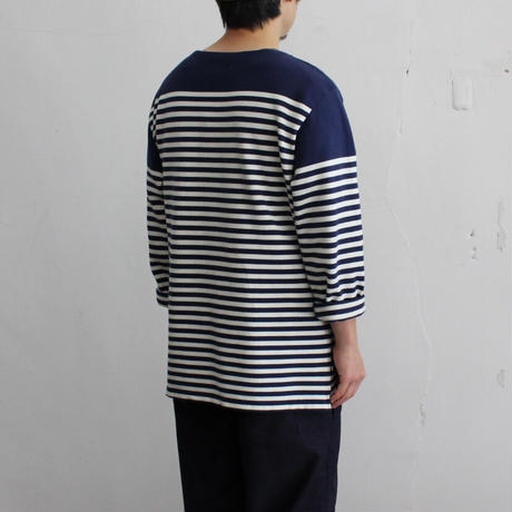 OMNIGOD_ボートネックバスクシャツmen【59-0449N】